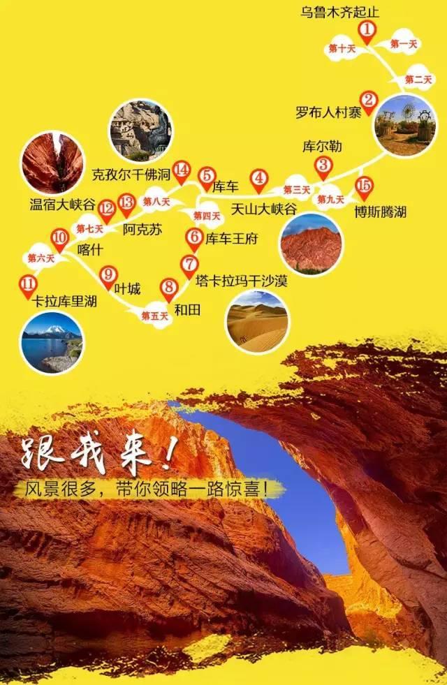 【南疆10日】环游南疆精华景点人文之旅~库尔勒+库车+和田+喀什 深度纯玩10日游