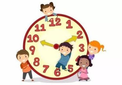 良好的时间观念有助于孩子的健康成长,家长可用这些方法来培养