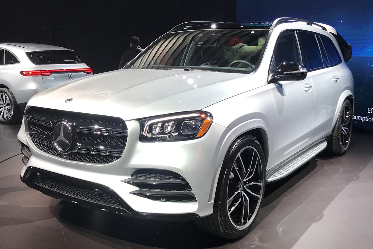 2019纽约车展:全新一代奔驰GLS正式亮相