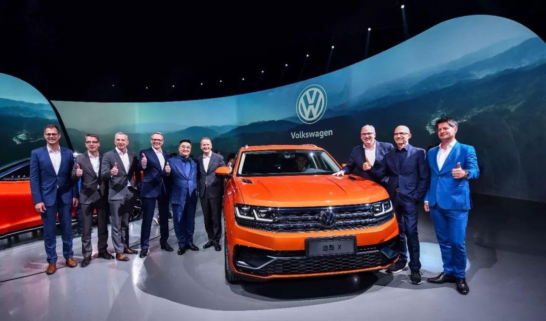 [新疆上中】世界重量级出道上汽大众新款大型旗舰SUV途安X闪亮上海