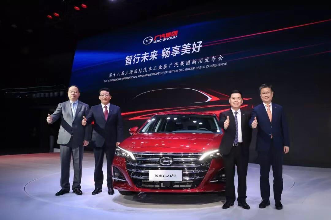 上海车展丨全新传祺GA6到来,广汽传祺开启全新十年!