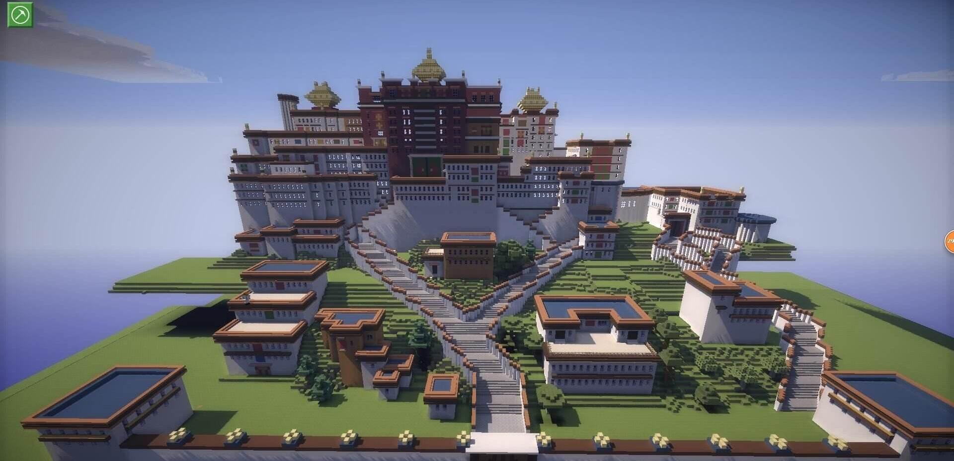 Minecraft建筑大赏,你能撑到到第几张图,网友:第一... _腾讯网