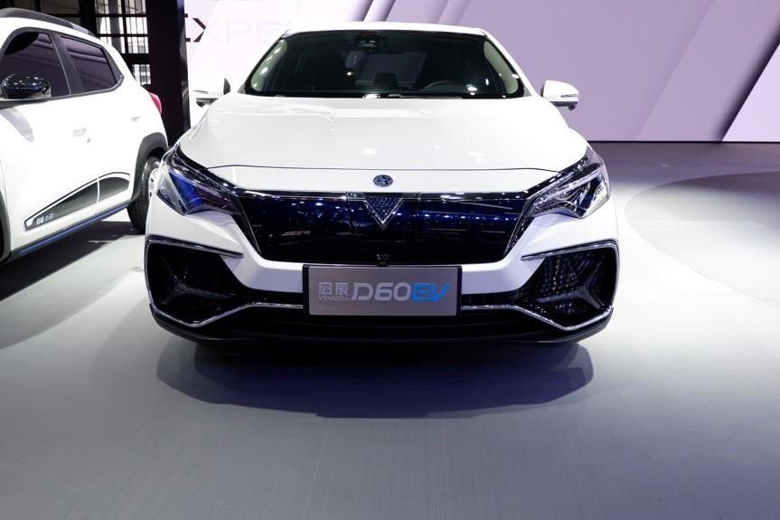 2019上海车展:换汤又换药,启辰D60 EV发布