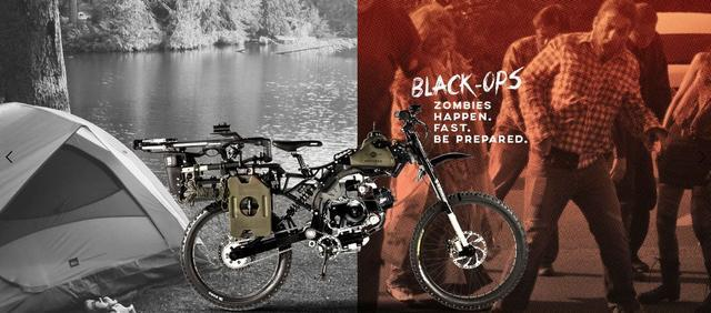 <b>能不能上牌照?国外公司推出一款摩托车,世界末日时就能靠它逃命</b>