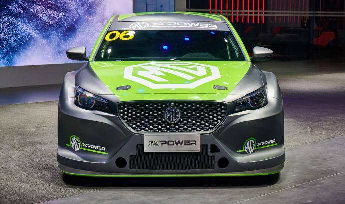 宇尘说车|名爵6 XPOWER TCR上海车展全球首秀 售价10万欧元