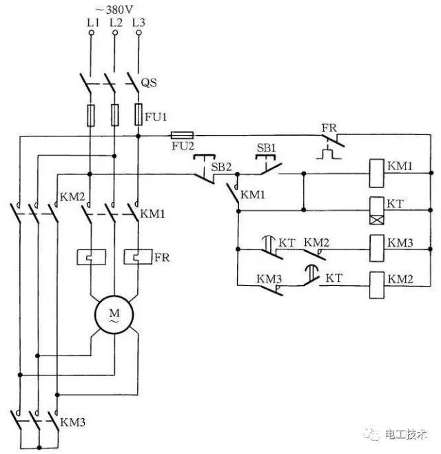 18种电动机降压启动电路图【珍藏】