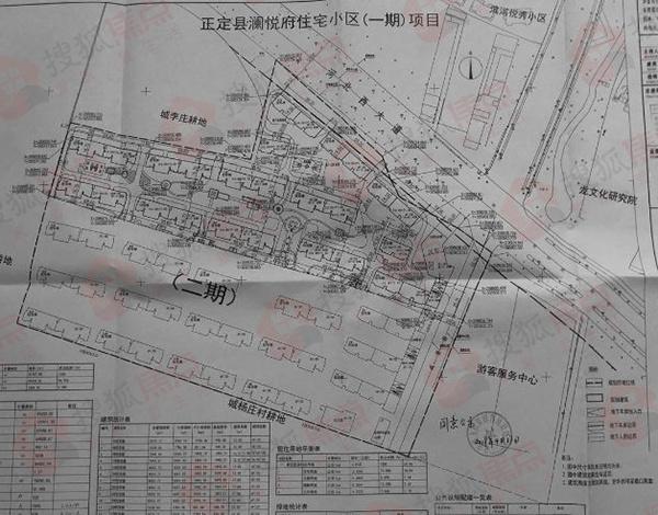 正定县澜悦府项目规划公示 占地73.8亩曾以5亿拿地