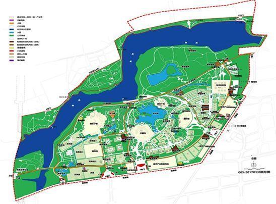 北京世园会园区规划图