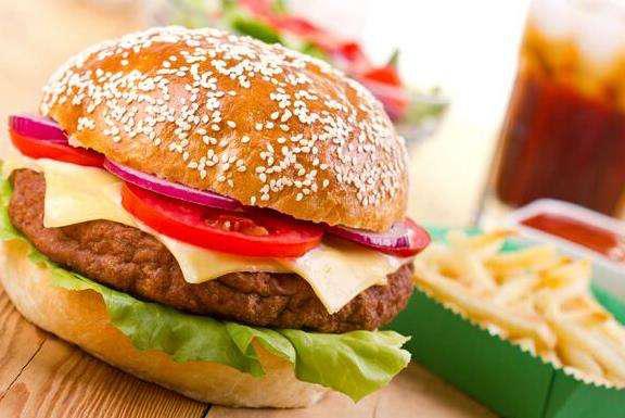 比某基、某劳更健康又美味的汉堡来了,吃一口美美的