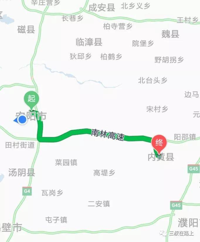 安阳到内黄公路规划图