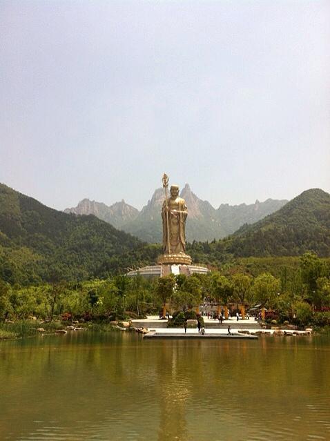 九华山入选世界地质公园,全国已有39个,安徽占3席