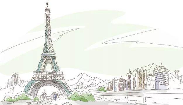 痛心 巴黎圣母院大火,标志塔尖倒塌