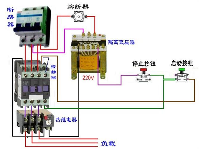 电工们看看吧,上百种电路实物接线图,很实用