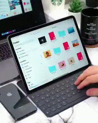 iPad 有了这个多任务处理功能,才能媲美电脑