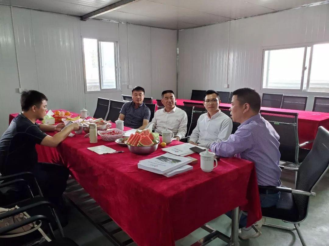 【商会动态】走访会员企业 ——湖南德赛厨房设备有限公司足球外