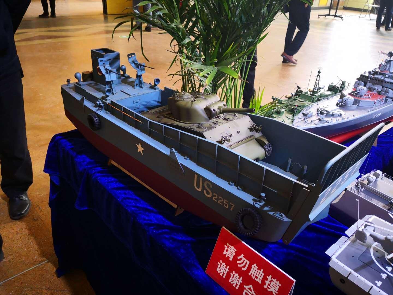 2019中国模型展上的船舶 航海梦