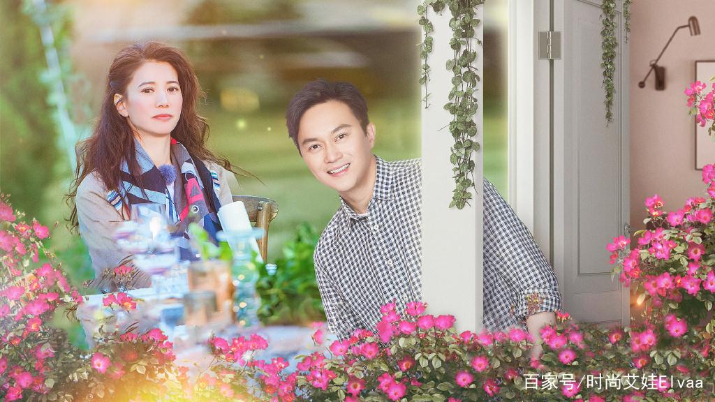 袁咏仪《妻子的浪漫旅行》私服合辑,48岁真是有颜有钱,美回28岁