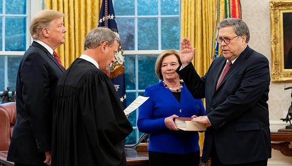 美司法部长:俄曾试图干预2016美大选,但特朗普团队未与之勾结
