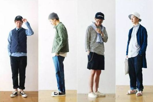 男生搭配:日系穿搭,注意这几点,穿出清爽范儿