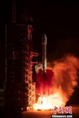 中國長三甲係列運載火箭實現100次發射