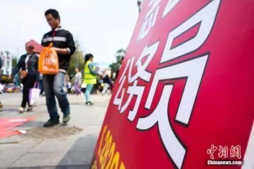"""22省份公务员招录开考,热门岗位竞争超过""""千里挑一""""!"""