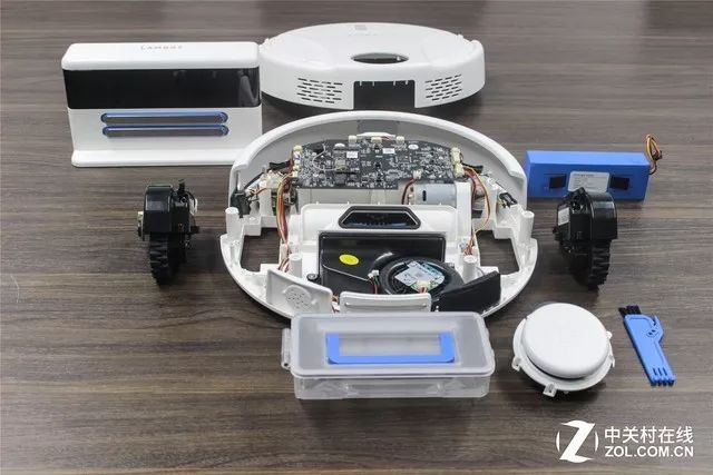 6V无刷电机,有没有技术拆开看 岚豹扫地机器人拆解_进行