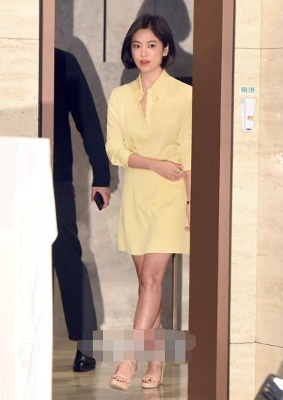 宋慧乔传婚变后首出席韩国活动,不戴婚戒与宋仲基感情不再受质疑