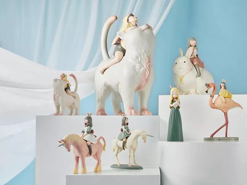 少女心炸裂的超萌雕塑~带你走进一场童话梦!