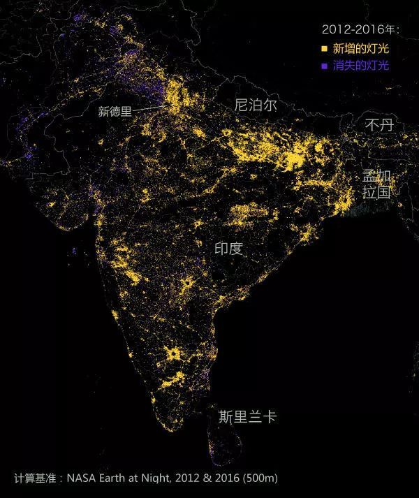 世界夜晚卫星地图_世界夜晚灯光地图大全_世界夜晚灯光地图汇总