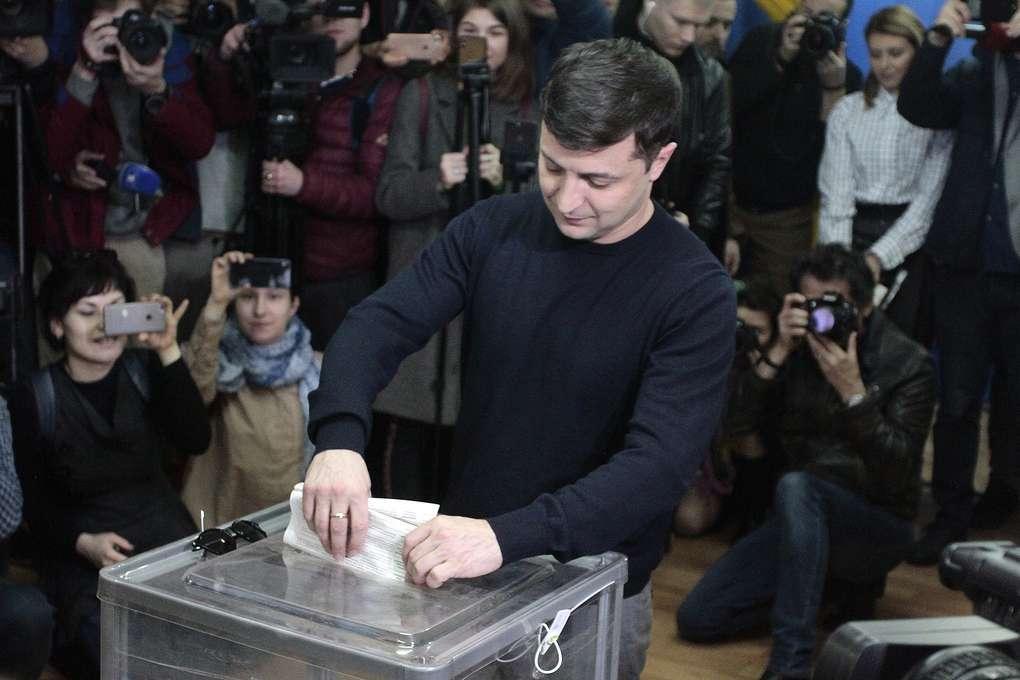 民调:乌克兰喜剧演员支持率达75%