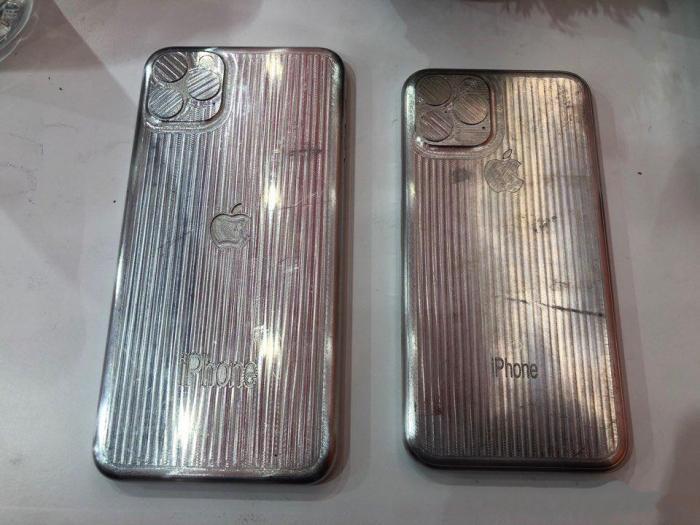 郭台铭陈赫疑似曝光iPhone11真机!网友吐槽:真的很丑!