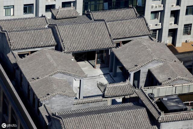 老北京四合院的详细资料—四合院建筑的空间关系3(第十一期)