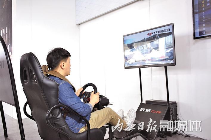 玩赛车游戏开心又刺激