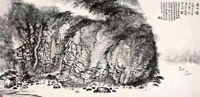 历代29名家经典画石皴法的运用图解,太全太详细了