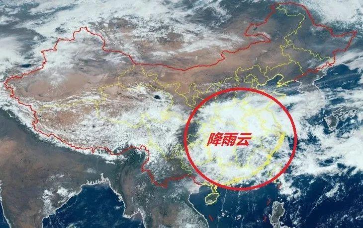 """气象数据显示华南、江南有多天雨,已确认!""""降雨模式""""来了?"""