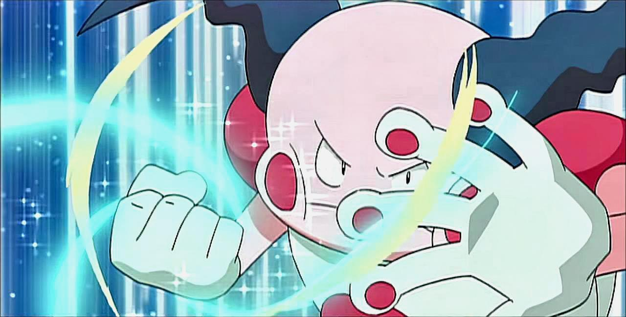 神奇宝贝 原以为吸盘魔偶是个保姆,没想到一招雷光掌打爆泳气鼬