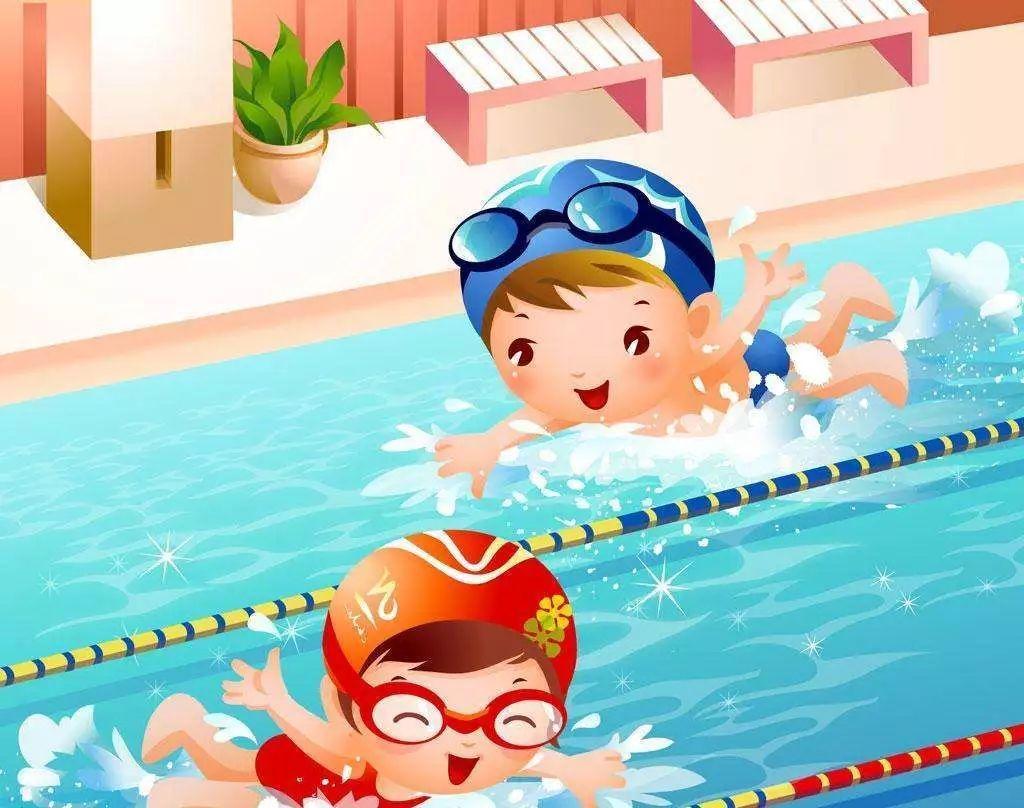 夏季游泳不仅可以带来清凉