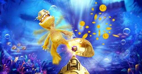 《千炮捕鱼》电玩城刷金币