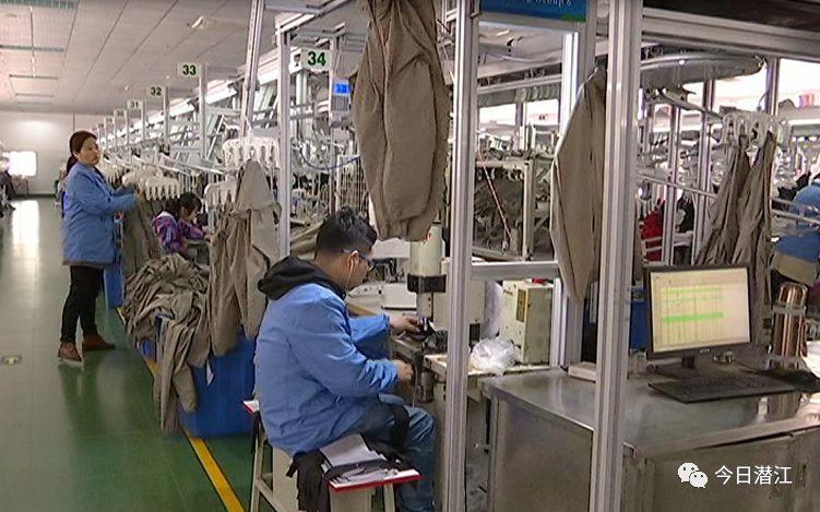 比帆制衣车间主任 郑继梅   我们这个厂是智能制造的流水线,比以前老式的好多了;   艾颢制衣服装有限公司自二月份图片