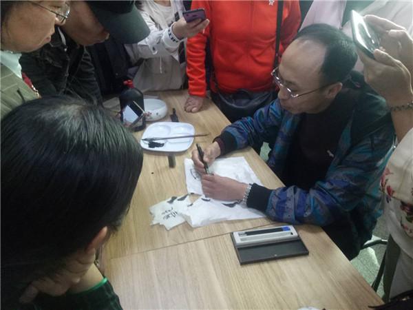 辽宁铁岭书画家张儒举办篆刻艺术公益讲座
