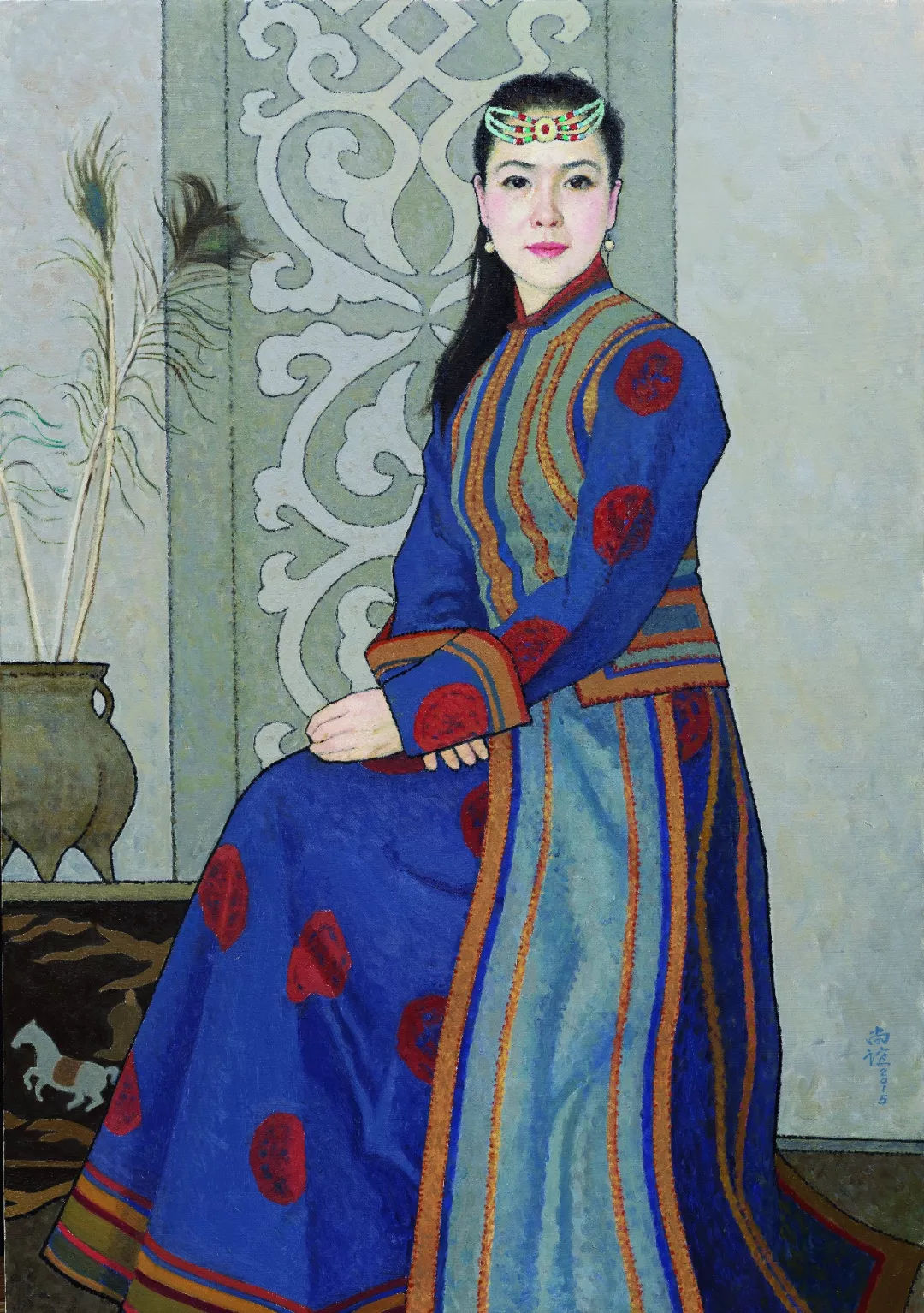 中国美协名誉主席、著名油画家靳尚谊作品欣赏!