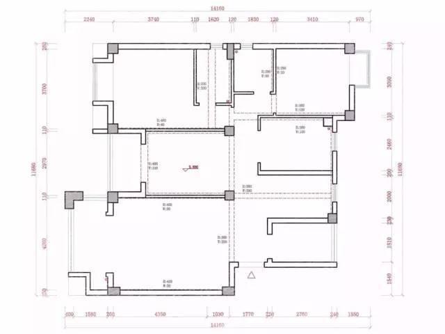 一个户型,根据不同居住情况,出16个方案,个个出彩!