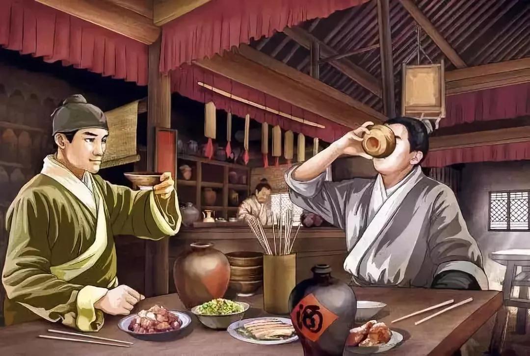 中国各朝代喝酒的文化