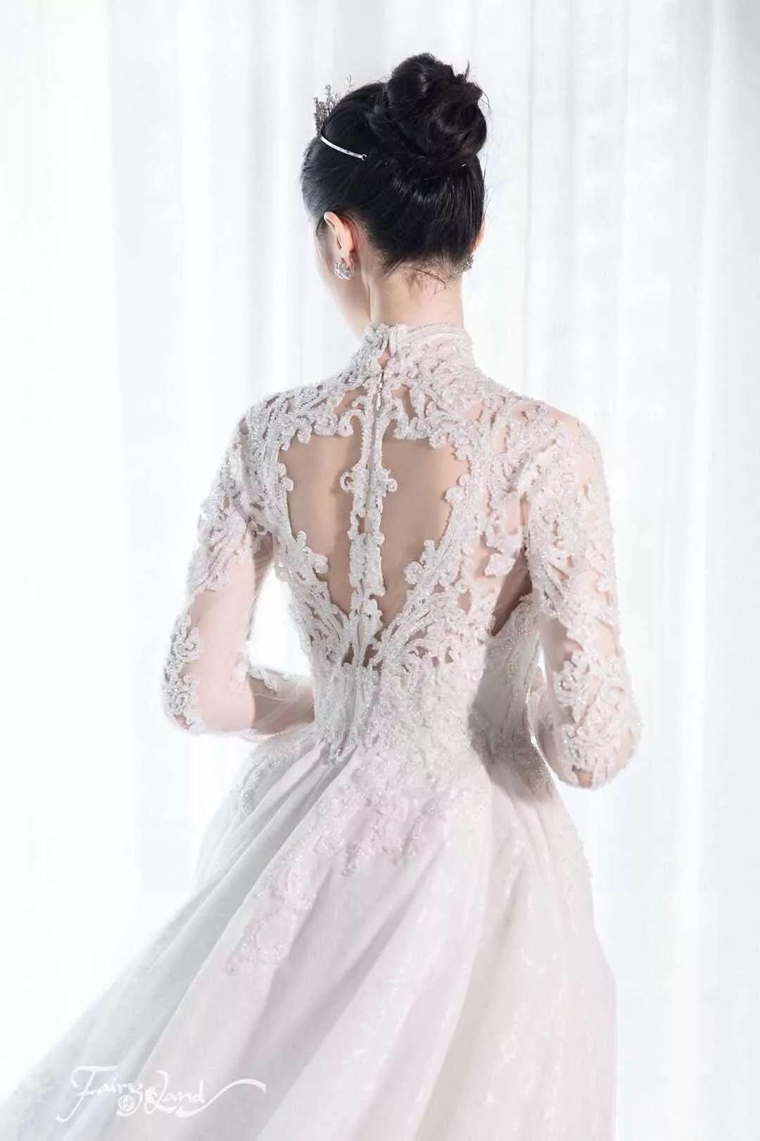 最美中式嫁衣图片