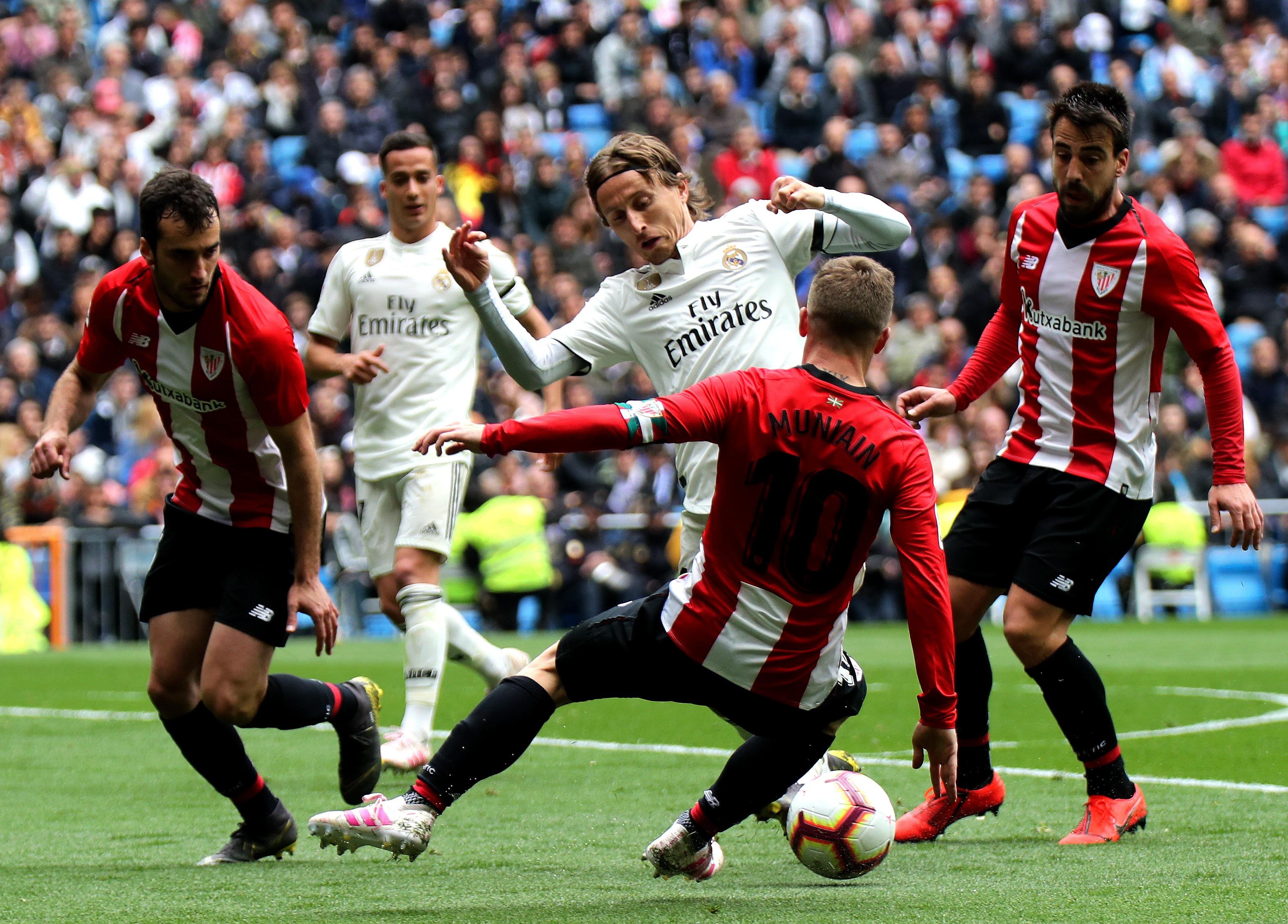 足球——西甲:皇家馬德里勝畢爾巴鄂競技圖片