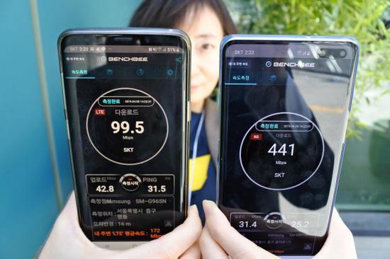 韩美抢跑5G商用翻车?看看第一批用户们怎么评价_美韩