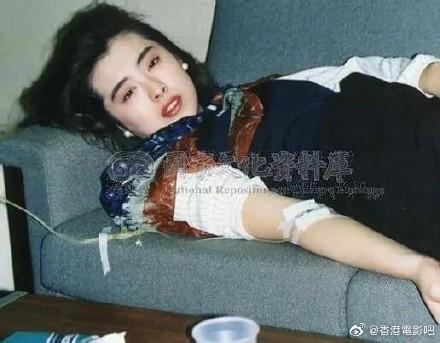 王祖贤生病旧照曝光,网友惊艳:连生病都美到哭泣