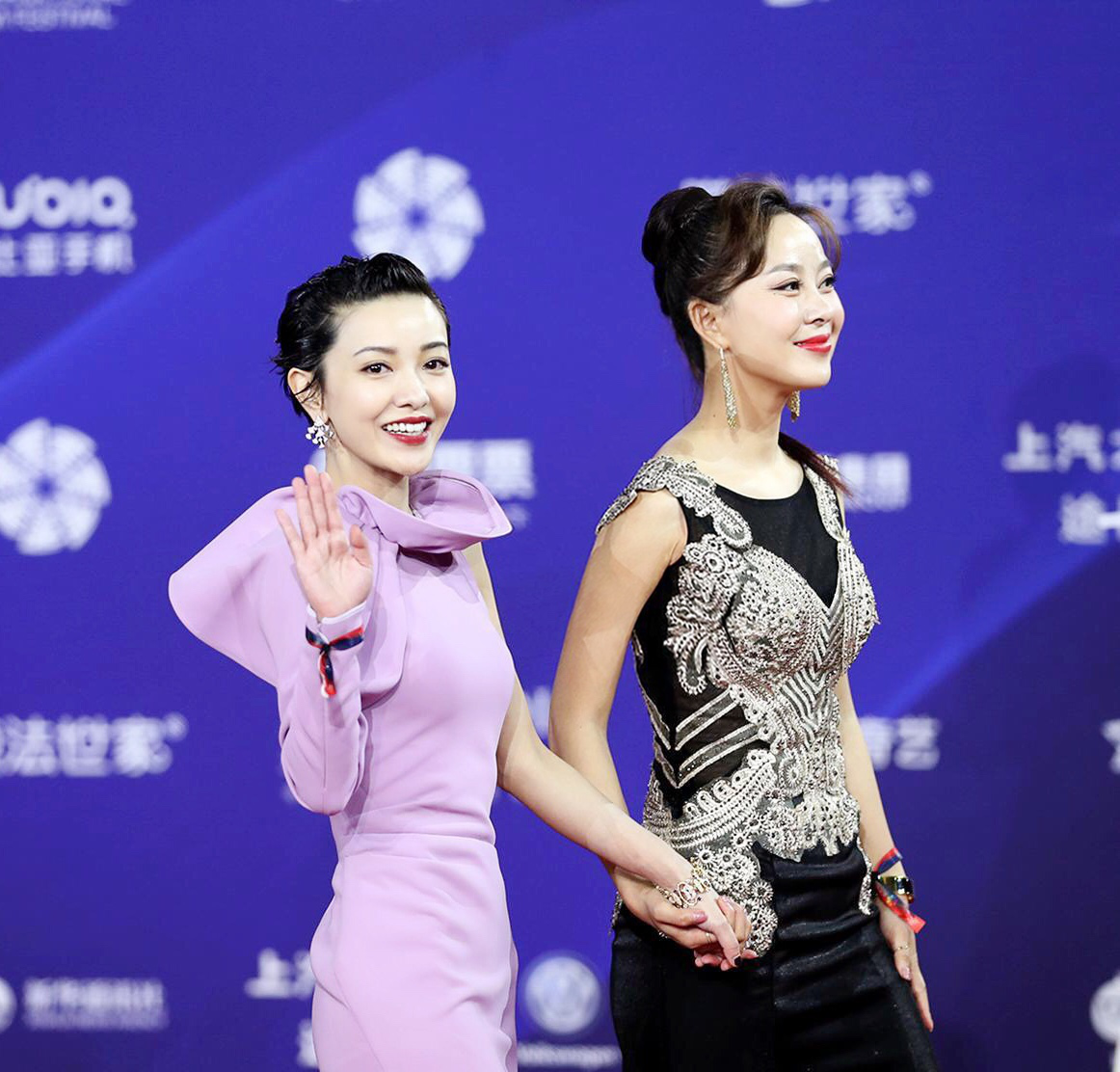 影星王芯宜随《记忆切割》剧组亮相北京国际电影节闭幕式