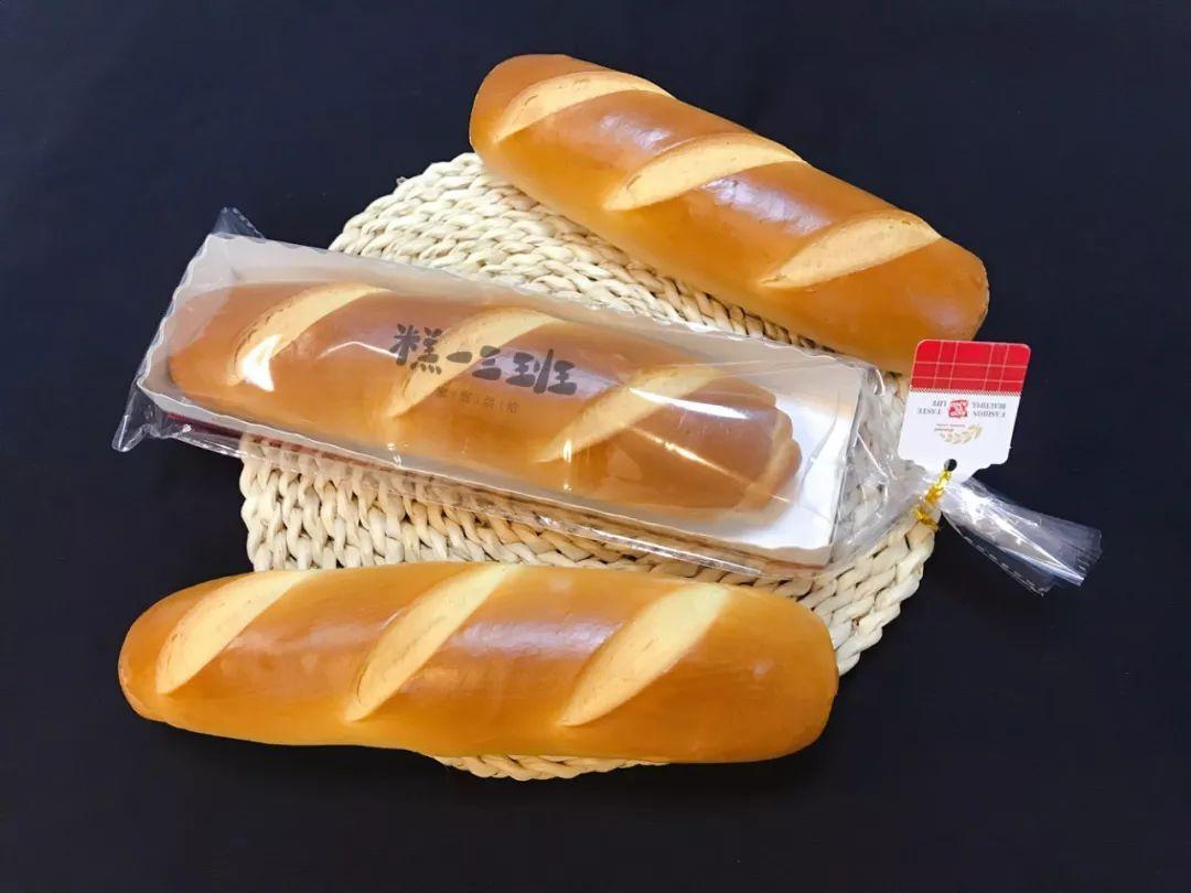 牛奶棒面包