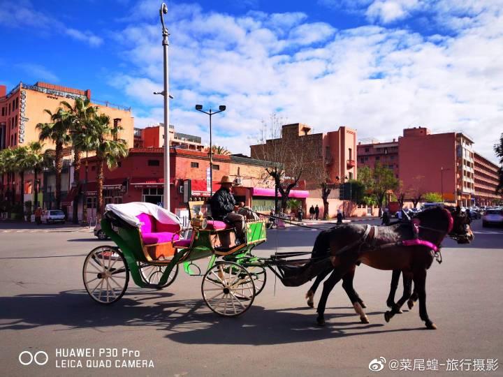 摩洛哥马拉喀什,北非红色之城的WTCR赛车及城市旅行